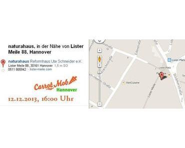 Carrot Mob in Hannover, diesmal anders: zum Mitsingen - Dezember 2013