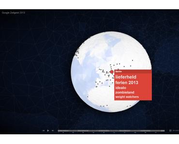 Google Zeitgeist: Danach hat Deutschland in 2013 bei Google gesucht