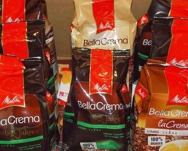 Melitta Bella Crema Selection des Jahres 2014, eine perfekte Mischung der feinsten Kaffeebohnen.
