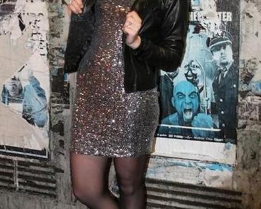 Willkommen 2014 / Silvester Outfit: Glitzer und Glamour