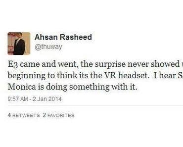 Playstation 4: Spiele für das VR-Headset in Arbeit, Enthüllung auf der CES?