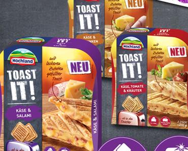 Produkttest: Toast it - Sandwich von Hochland.