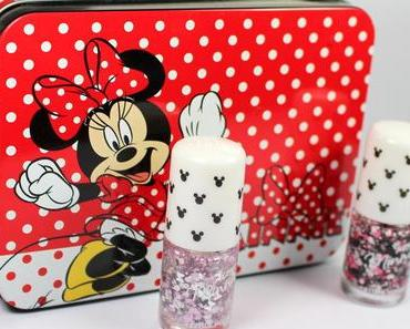 "Review: Etude House Nail Polishes ""XOXO Minnie"" Collection"