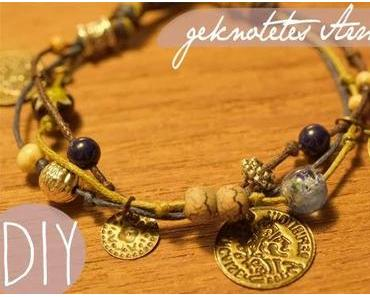 [diy] geknotetes Armband