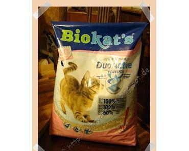 Neues Streu für unsere Katzen
