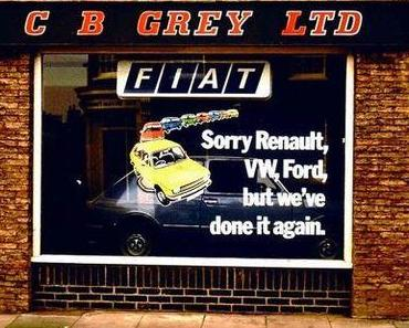 Fiat 1977: Sorry, wir haben es wieder getan