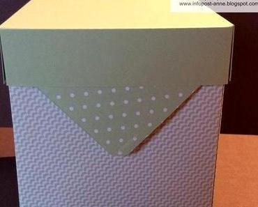 Envelope Punch Board - Box groß und hoch...