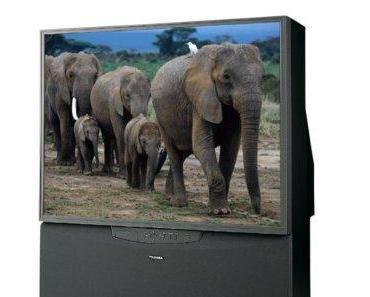 Toshiba 61H70 61-Inch HDTV-Ready Projection TV