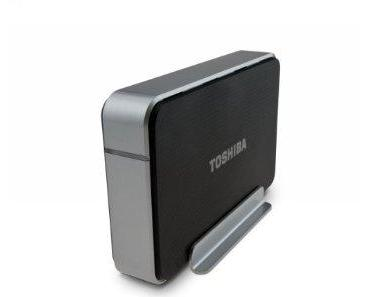 Toshiba 2 TB USB 3.0 External Hard Drive PH3200U-1E3S (Black/Silver)
