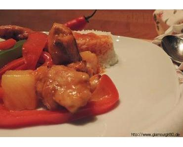[Asiatisch] Sweet-Sour Chicken - inkl. veganer Variante