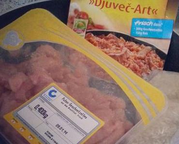 Maggi VS Selbstgemacht: Djuvec Reis