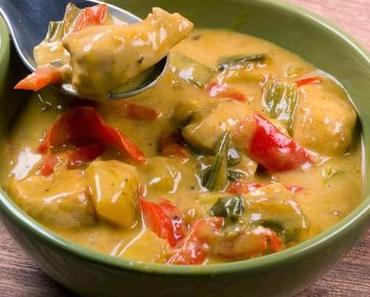 Fruchtig scharfes Hähnchen-Curry mit Mango