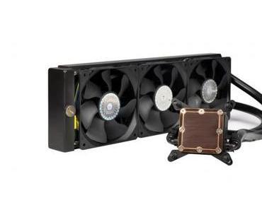 Cooler Master Glacer 360L: Neue Kompaktwasserkühlung vorgestellt (CES 2014)