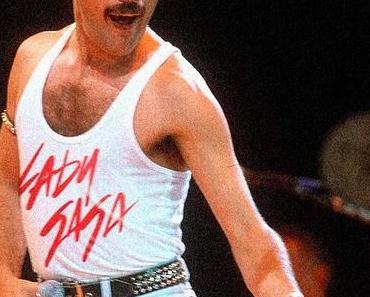 Verkehrte Musikwelt: Rock Stars tragen Fanshirts aus der Zukunft