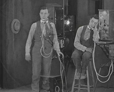 """Der Sprung in die Leinwand – Buster Keatons """"Sherlock, Jr"""""""