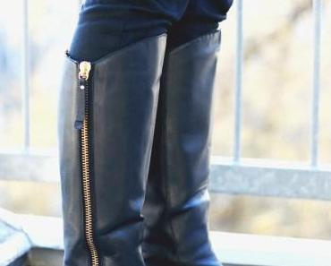 How to wear… pointy boots – spitze Stiefel