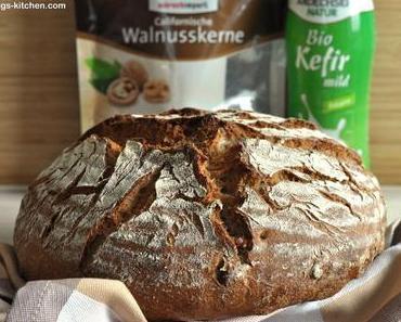 Kefir-Walnuss-Brot
