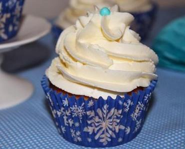 winterliche Cupcakes / Mascarpone Topping