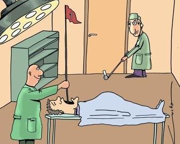 Golfer, ein komischer Haufen!