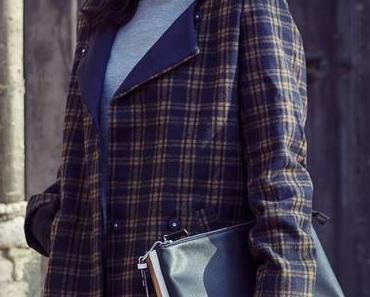 Trend: Karierter Mantel
