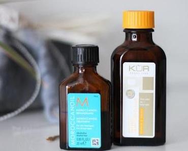 Moroccanoil vs Agran-Öl von Aldi Süd