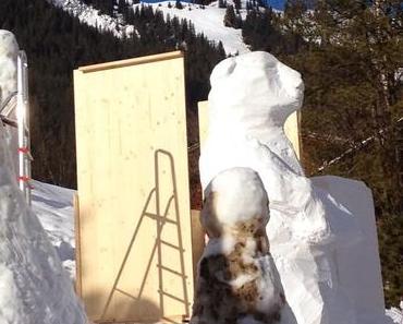 Thomas Hirschhorns Schneephantasien