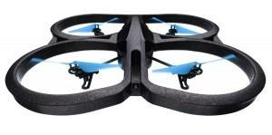 "Gadget: Spion-Drohne ""AR Drone 2 Power Edition"" mit 4 Propellern und 2 HD Kameras"