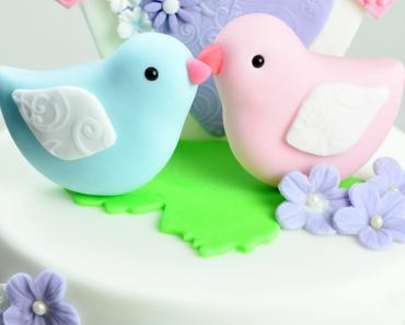 Love Birds Cake - zum Valentinstag