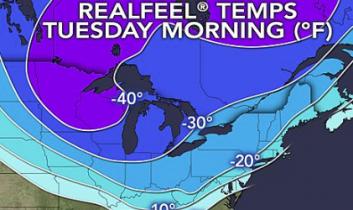 Polar Vortex, Saison Finale: Historischer Eissturm im Süden, gefühlte -37 C in Chicago