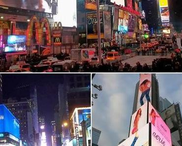 New York: Times Square bei Tag und Nacht