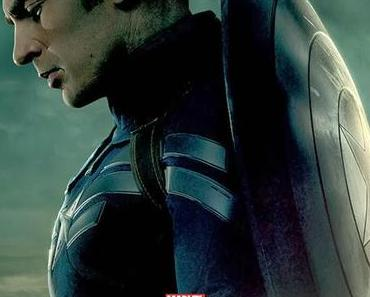 "Marvel News: Drei Charakterposter zu ""Captain America 2: The Return of the First Avenger"" erschienen"