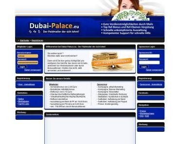 Dubai-Palace.eu u.a. – Frank Bergmeier verschollen – zahlungsunfähig oder zahlungsunwillig?