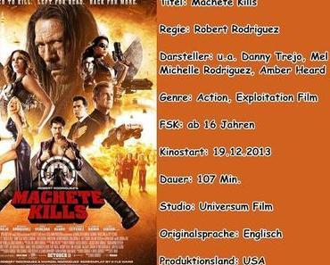 """Filmkritik zu """"Machete kills"""""""