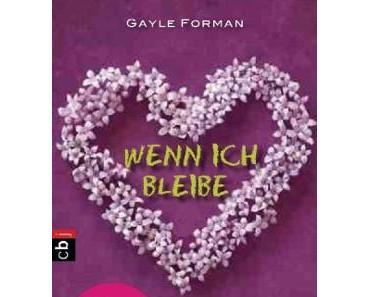 """Rezension zu """"Wenn ich bleibe"""" von Gayle Forman"""