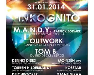 Shameless Selfpromotion: Torben Hildebrandt - INKOGNITO Bremen 31-01-2014