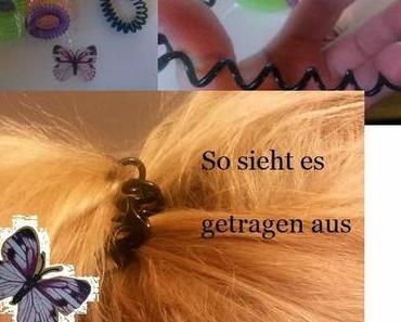 Haarspirale, alternative zu Haargummi