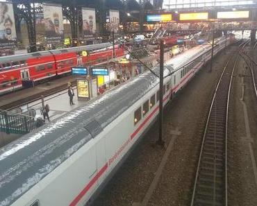Deutsche Bahn AG - die Reise wird zum Glücksspiel - IC 2279 3 Stunden auf offener Strecke...