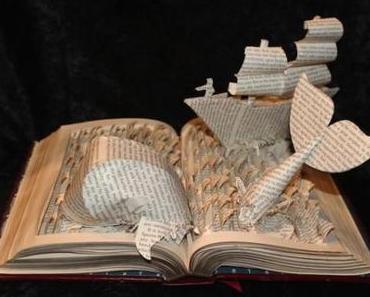 Skulpturen aus Büchern von Jodi Harvey-Brown
