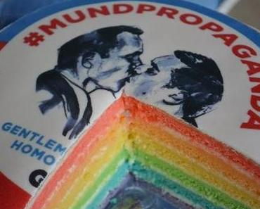 Wir machen Mundpropaganda! - Regenbogentorte
