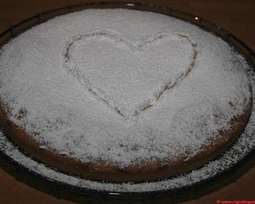 Valentinstag à la francaise – Provenzalischer Pastiskuchen mit Mandeln