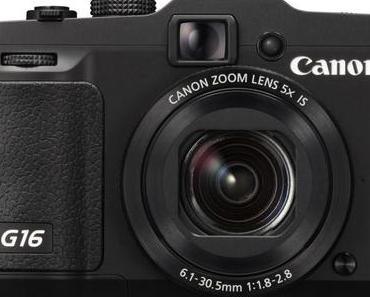 Canon PowerShot G16 – Die optimale Immer-dabei-Kamera