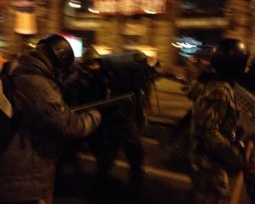 Blutige Nacht in Kiew