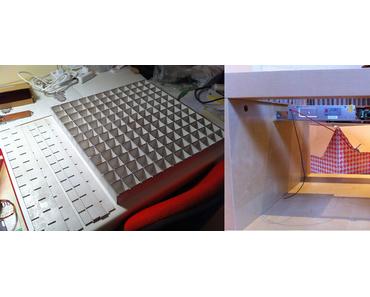 IKEA-Beistelltisch mit 144 LEDs spielt Snake, Tetris und mehr