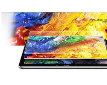 Das neue Riesentablet von Samsung GALAXY NotePRO 12.2