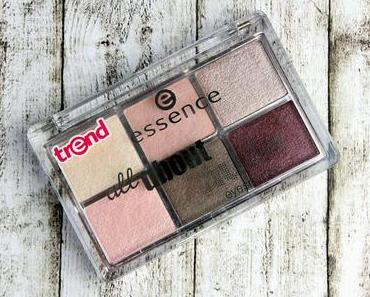 Review: Essence 'all about nude eyeshadow ' mit Amu