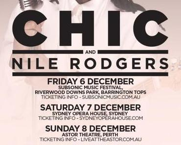 CHIC feat. Nile Rodgers LIVE @ Sydney Opera House Dec. 2013 (free audio + full concert video)