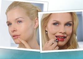 Riskieren Sie gern mal eine dicke Lippe?  Herpes-Alarm!