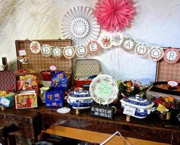 DIY Hochzeit: Wie man eine Candy Bar organisiert!