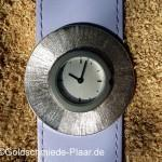 Scheibe aus Silber (925/-) für Deja-Vu Uhr