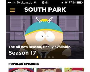 Alle South Park Folgen kostenlos in neuer, offizieller App auf Deutsch und Englisch ansehen